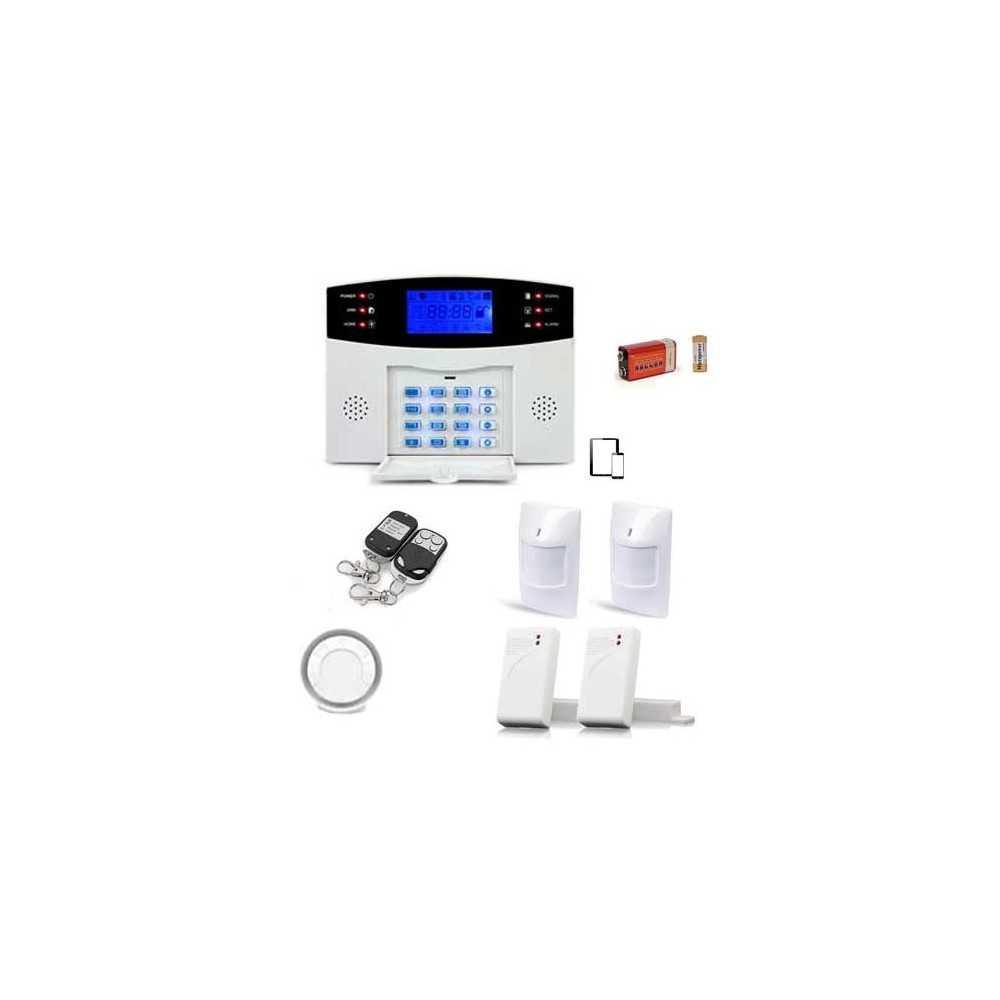 alarme maison sans fil gsm 99 zones medium securitegooddeal. Black Bedroom Furniture Sets. Home Design Ideas