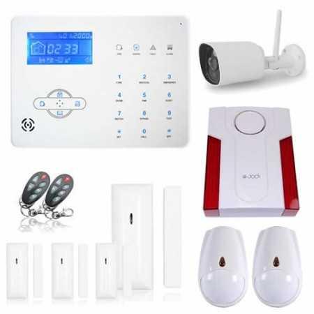 Kit Alarme Maison Avec Camera Ip Packs Alarme Xxxl Securitegooddeal