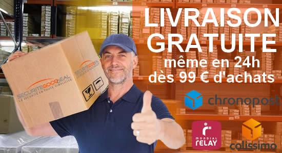 livraison offerte à 99 euros