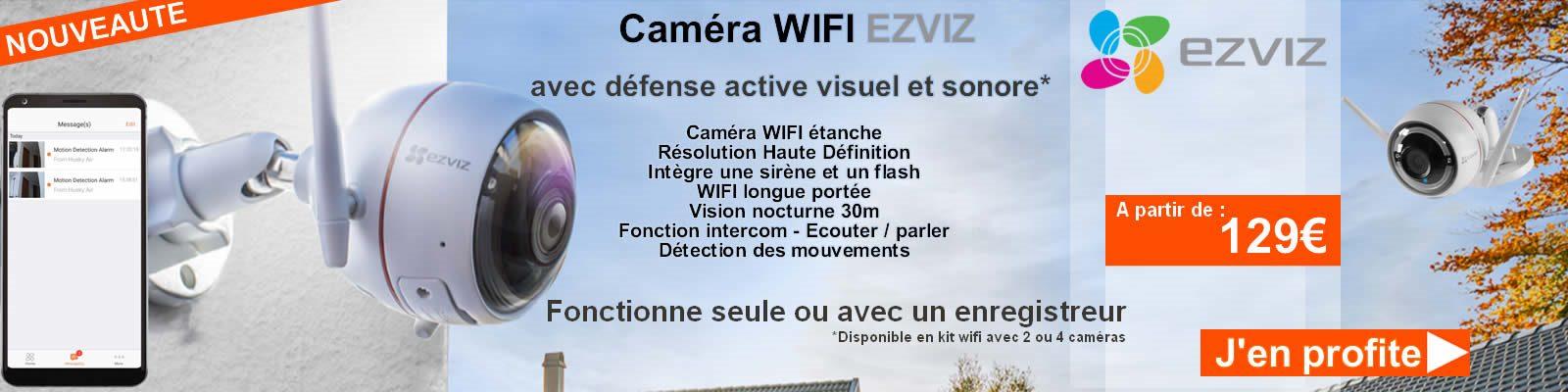 EZVIZ vidéo surveillance