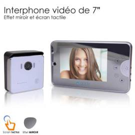 Interphone video Miroir 7