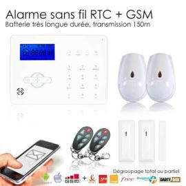 Alarme maison sans fil REVOLUTION Medium