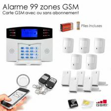 Alarme GSM animal XXL et camera IP