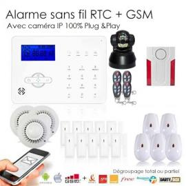 Alarme sans fil egregore 2 for Alarme maison securite good deal