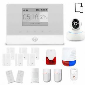 Kit alarme maison sans fil connecté GSM APPure