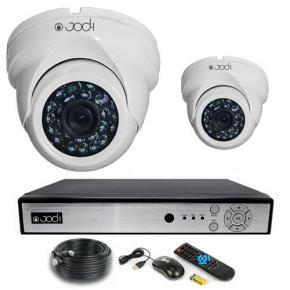 Kit AHD 960P 2 caméras Domes 1.3MP