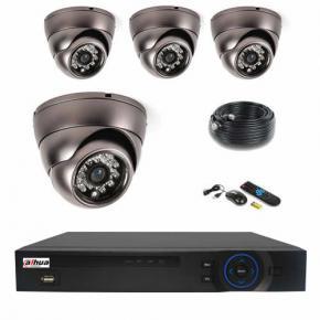 Kit vidéosurveillance maison DAHUA