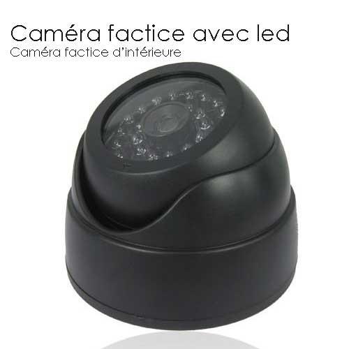 camera factice avec led camera factice cameras factice. Black Bedroom Furniture Sets. Home Design Ideas