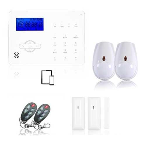 alarme maison r volution pack m dium alarme de maison sans fil. Black Bedroom Furniture Sets. Home Design Ideas