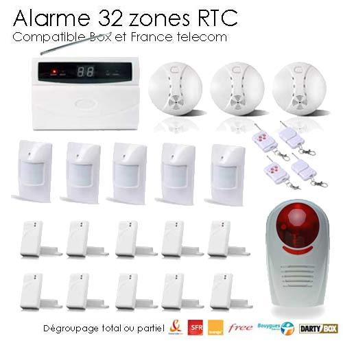 alarme sans fil pour maison individuelle