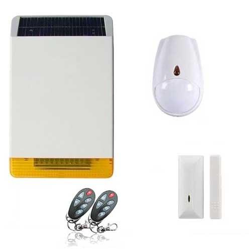kit alarme sir ne solaire revolution toutes les alarmes de maison sans fil. Black Bedroom Furniture Sets. Home Design Ideas