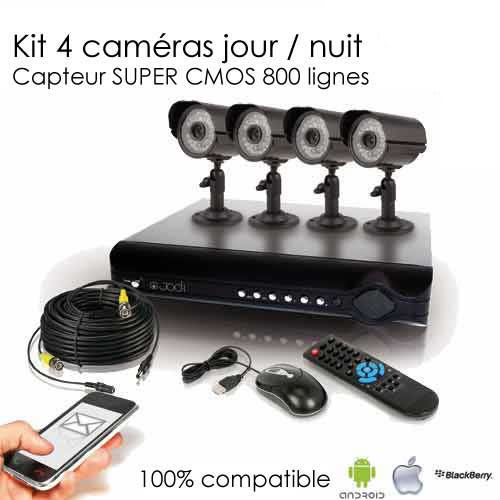 Kit de video surveillance