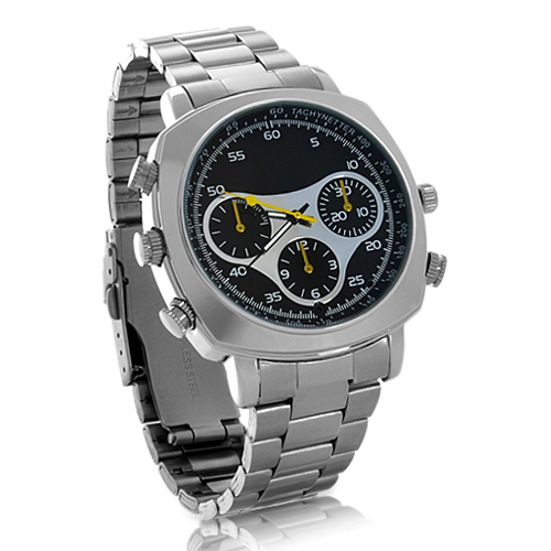 MONTRE CAMERA ESPION 4GO  HD & etanche