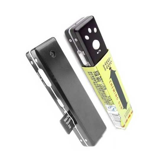 Mini camera espion Chewing Gum