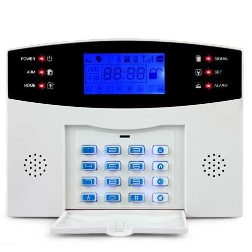 kit alarme de maison sans fil 99 zones. Black Bedroom Furniture Sets. Home Design Ideas