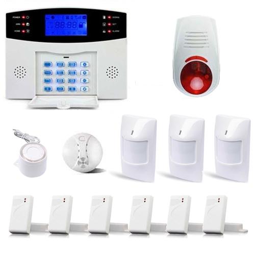 alarme maison sans fil gsm avec sirenes alarme maison jod1. Black Bedroom Furniture Sets. Home Design Ideas