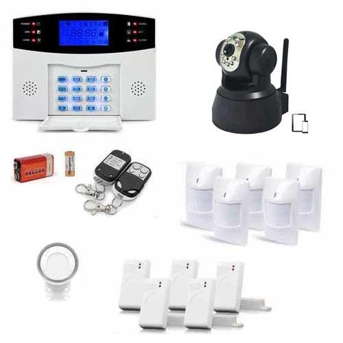 Alarme maison sans fil sans abonnement simple alarme for Abonnement gsm pour alarme maison