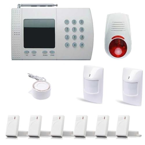 alarme dans une maison