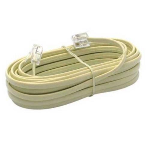 cable telephone rj11 10 metres accessoires interphonie. Black Bedroom Furniture Sets. Home Design Ideas