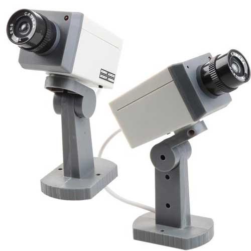 camera factice motorisee cameras factice accessoires vid o surveillance tout le mat riel. Black Bedroom Furniture Sets. Home Design Ideas