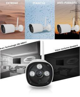 cam ra ip wifi exterieur pas cher. Black Bedroom Furniture Sets. Home Design Ideas