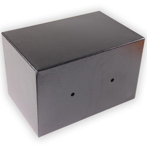 petit coffre fort a clef 13l acier galvanise coffre fort. Black Bedroom Furniture Sets. Home Design Ideas