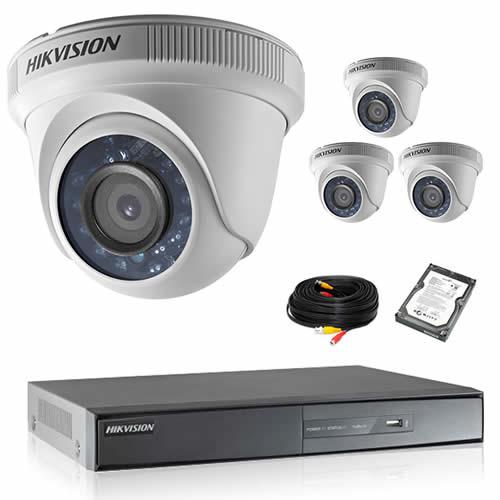 kit de vid osurveillance hikvision 4 d mes 1080p hd avec disque dur vid o surveillance. Black Bedroom Furniture Sets. Home Design Ideas