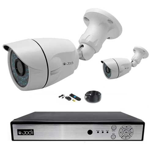 Kit AHD 960P 2 caméras Tubes 1.3MP