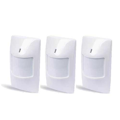 pack de 3 detecteurs infrarouge sans fil completer mon alarme sans fil. Black Bedroom Furniture Sets. Home Design Ideas