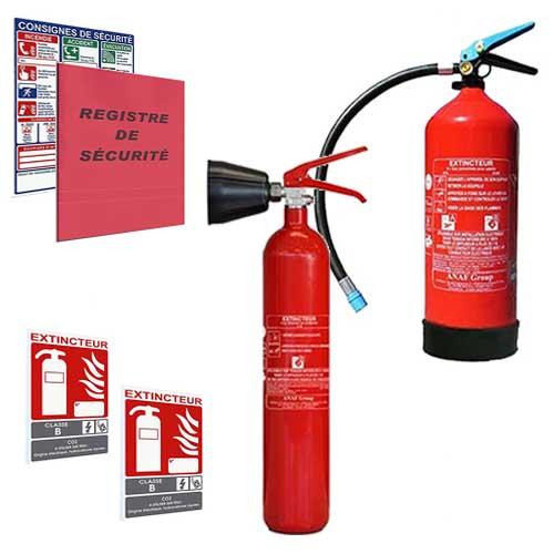 Pack sécurité incendie ERP