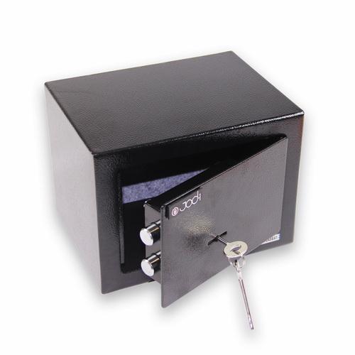 coffre fort a clef 7l acier galvanise de 4mm coffre fort