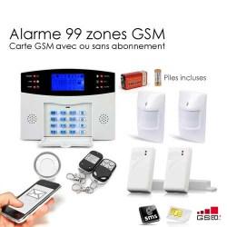 alarme sans fil gsm syst me d 39 alarme gsm sans fil. Black Bedroom Furniture Sets. Home Design Ideas