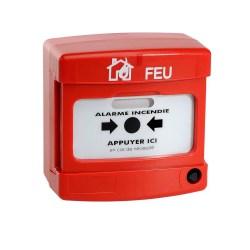 alarme type 4 incendie sur secteur nf 1 boucle protection incendie pour la maison. Black Bedroom Furniture Sets. Home Design Ideas