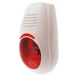 Sirene alarme exterieure avec flash completer mon alarme - Sirene alarme exterieure sans fil ...